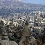 I just kept taking the same landscape photo over and over again, left saying Wow each time I put the camera down. Cappadocia makes quite a first impression.