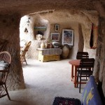 Inside one of the cave hotels in Cappadocia