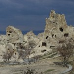 The road into Göreme Valley, a UNESCO site