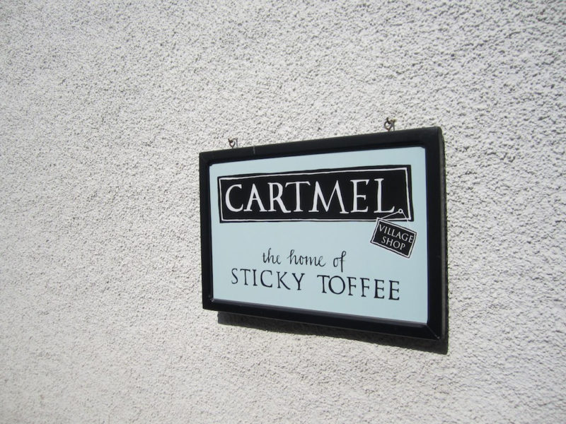 Sticky toffee pudding shop
