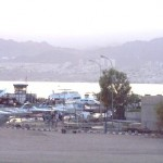 View from Aqaba to Eilat
