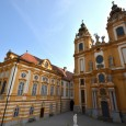 Melk Abbey in the Town of Melk in Austria, sits on a hill overlooking the town and the Danube River nearby. This Benedictine Abbey has been on this site since...